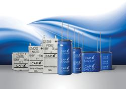 CAP-XX supercapacitor line